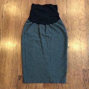 Isabella Oliver 'Tilbury' grey pencil skirt